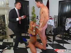 DP Star 3 - Hot Tatooed Pornstar Kleio Valentien Deep Throat Blowjob