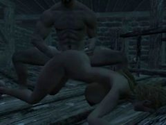 The Elder Scrolls Skyrim Animated Sex