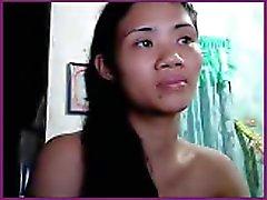 De Lil atractiva muchacha Filipinas
