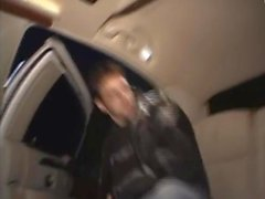 Lisa Marie Blowing rimming a caso sconosciuti Limo Limousine