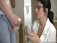 Sexy de le docteur Cum Extraction de