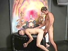 Hung Latino Gay Sex Threesome