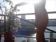 Dance in Hanoi Balcony
