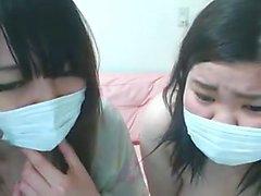 Two Ciccione giapponese naturali in webcam - rete nastycamz