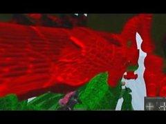 Green Ancient dragon, red dragon mating xtube