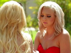Blonde Lesbians Aaliyah Love And Tiffany Watson