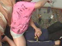 La tubercolosi Amatori Cuck pulitore L'umiliazione 1