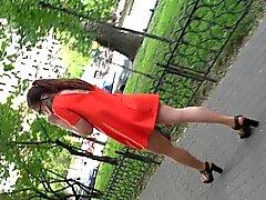 hieno pukeutuneita girl