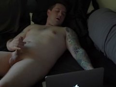Talking Dirty and Rubbing My Cock (HD)