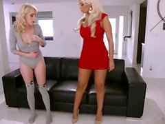 Bridgette B Makes Cadence Lux Squirt