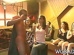 Cock juice party with strippers