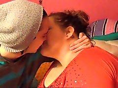Это, как французском Поцелуе - Девушка с девушкой