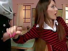 Güzel kız öğrenci DP ve DAP