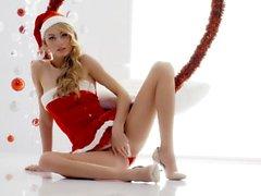 O Boxxx White - sexo Natal intenso com blondie ucraniana Nancy A
