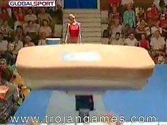 Grappig Sex Gymnastics Vault