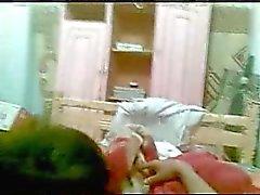 egyptier tonåring suger samt knullar