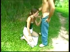 Outdoor Bonking With Blowing & Fisting