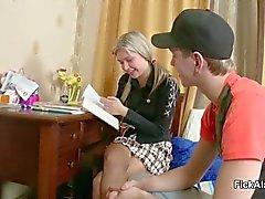 La hermana Pequeño obtener su primer polvo by Step -Bro