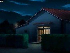 Voluptuosas Anime que muestra su castor
