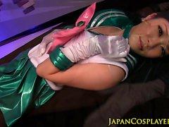Marinero de japonesa Jupiter facialized