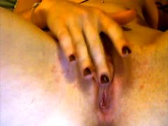 Female porn agent watches an amateur stud jerk off