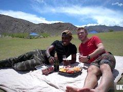 cumshot ile Sıcak erkek arkadaşı çevirme flop