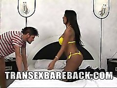 Ts Kauane Ferrari is in hot bareback action today. She tops