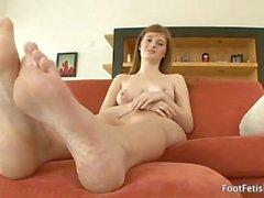 Foot Fetish Daily - Meet Faye Reagan (2009) Faye Reagan