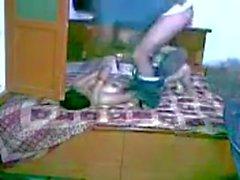 Indian Hot punjab älskare som leker i sovrum - Mms
