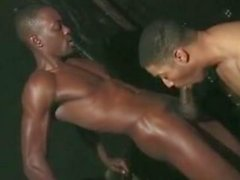 Gay work out their muscles by fucking in the ass