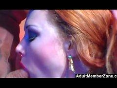 Polluelo del motorista Audrey Hollander pone duro anal