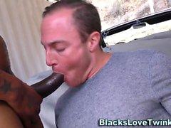 Black amateurs spitroast