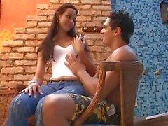Bonito Brazillian Burnette Adolescente Anal