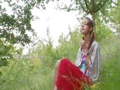 Белорусские Наташ задняя природе