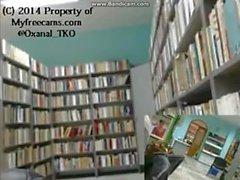 Neredeyse Cleaner Kütüphanesi'nde Çıplak Yakalandı