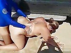 La plage isolée # 3