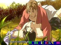 Simpatico omosessuale Anime caldo scopato con suo amico