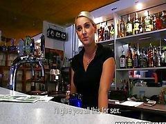 CALIENTES camarera República Checa pagado cogida rápida