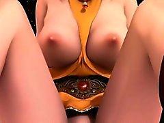 Pisstime con usted Lannas hadas - Archivo el sexo de anime córneo 3D