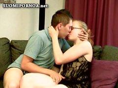 Pareja sexo homevideo finlandés suomipornoo finlandia homesex finnporn scandi