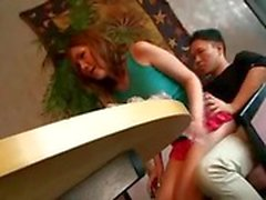 Hot asian tgirls get lewd in public places
