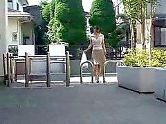 Japanse Cougar Stalked Uncensored