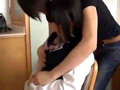 Sevimli japon genç denizci üniforma cosplay