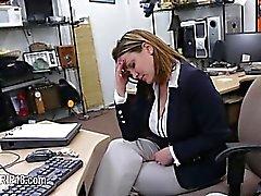 voyeur Hardcore penetrar en lugar público
