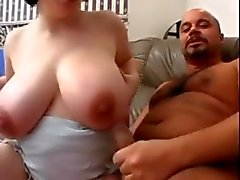 Girl with fantastic tits fucked