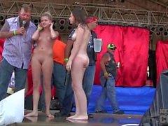 avta Iowa 2.014 prålig hot chick blöt tshirt contest