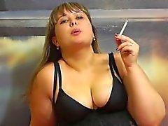 rechoncho lindo cigarrillos rusos