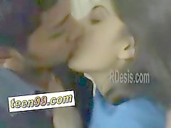 Indian desi girlfriemd love to kiss her boyfriend