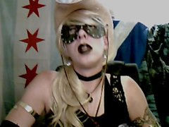 Goth Cowgirl Cam Show by vikkiCD16