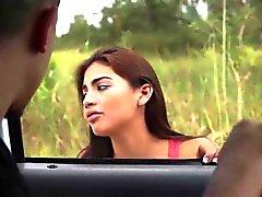 Micaela Martínez conseguir un buen el relleno en todas las sus agujeros